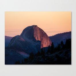 Half Dome Sunset I Canvas Print