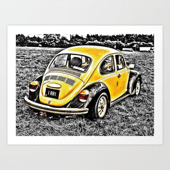 Bumble Beetle Art Print