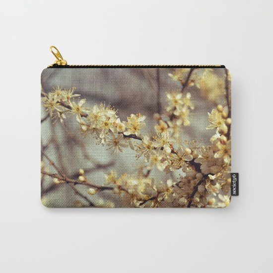 Sunny Cherry Blossom  Carry-All Pouch