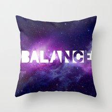 BALANCE_Galaxy version Throw Pillow