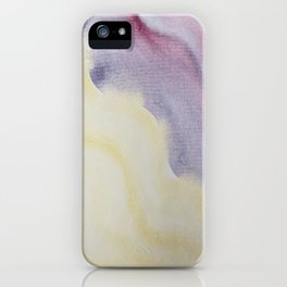 Sunlight on Lilacs iPhone Case