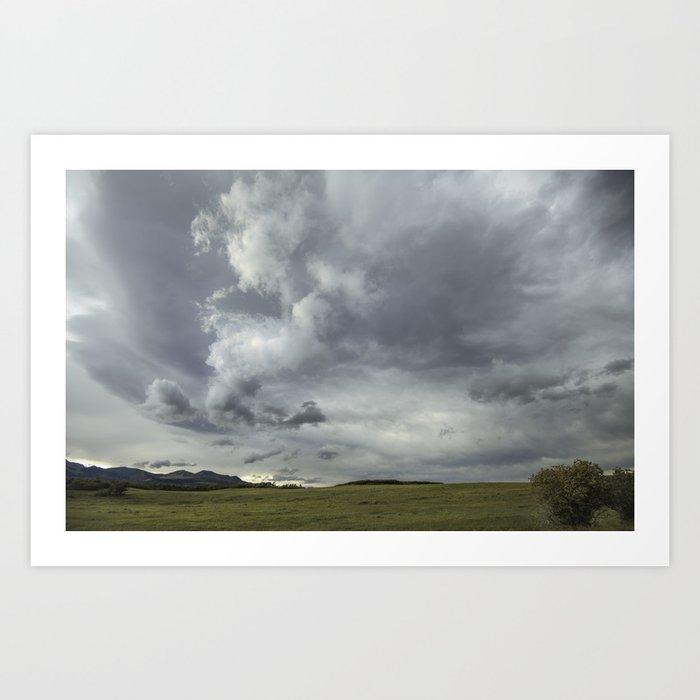 Landscape Photography | Waterton, Alberta | Clouds | Sunset Art Print