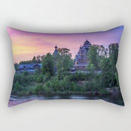Delightful Russian evening Rectangular Pillow
