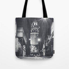 Istanbulian Night Tote Bag
