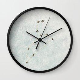 Leo x Astrology x Star Sign Wall Clock