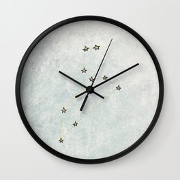 Leo x Astrology x Star Sign Wall Clock