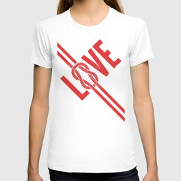 Love Knot (Red) T-shirt