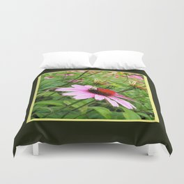 Napping Bumble Bee Duvet Cover
