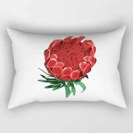Beautiful Protea Flower - Wonderful Australian Native Flower Rectangular Pillow