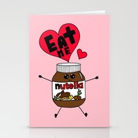 nutella Stationery Cards featuring Nutella by Aurelie