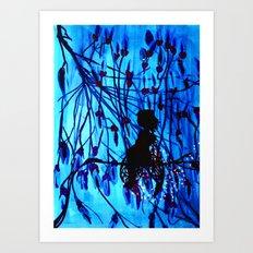 Midnight Art Print