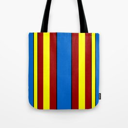 Super-Curtains Tote Bag