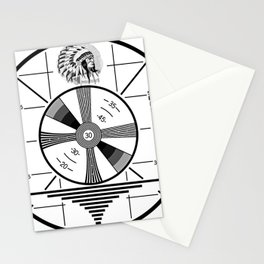Indian-Head Test Pattern Stationery Cards