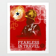 FEARLESS: In Travel Art Print