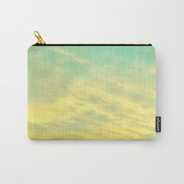 Green Yellow Sunset Carry-All Pouch