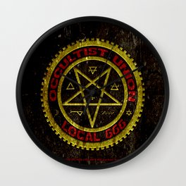 Occultist Union Local 666    019 Wall Clock
