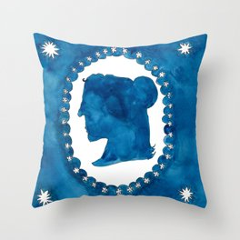 The Blue Beyond Throw Pillow