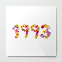 All Color Flower 1993 Metal Print