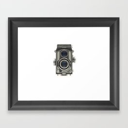 Vintage Camera (Yashica 44) Framed Art Print