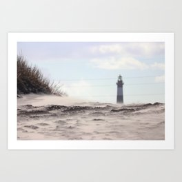 Winter Light Art Print
