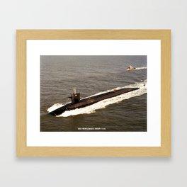 USS TENNESSEE (SSBN-734) Framed Art Print