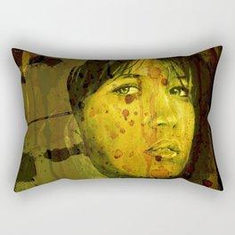 When she believes Rectangular Pillow