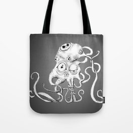 Tentacle Creature Tote Bag