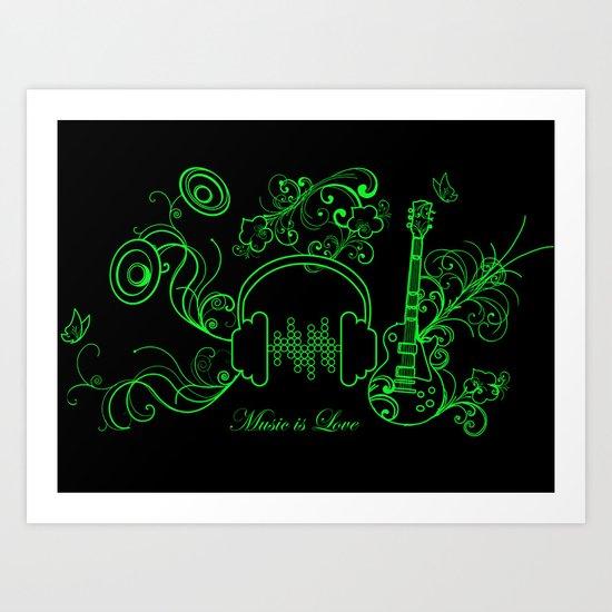 Music - 2 Art Print