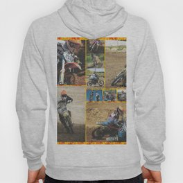Motocross Collage Hoody
