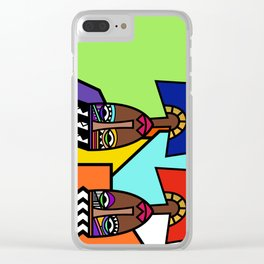 African Beauties  Clear iPhone Case