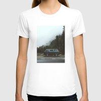 van T-shirts featuring Northwest Van by Kevin Russ