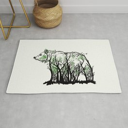 Beast of the Forest Rug