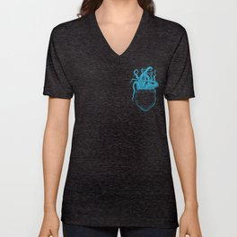 Octopocket Unisex V-Neck