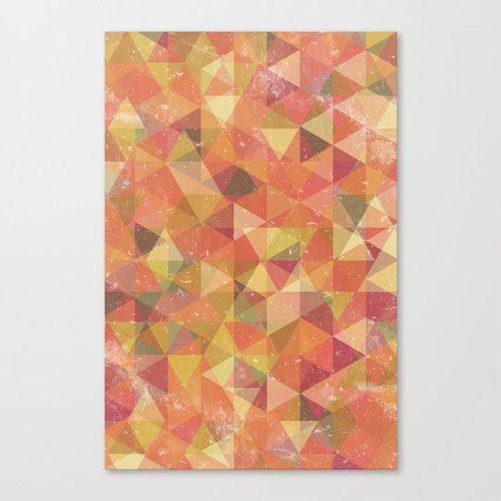 Triangle Pattern III Canvas Print