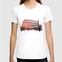rome T-shirts featuring Rome Colosseum by jbjart