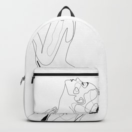 Naked Profile Lines Backpack