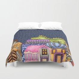 sleeping dino Duvet Cover
