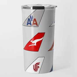 Tail Fins Collection Travel Mug