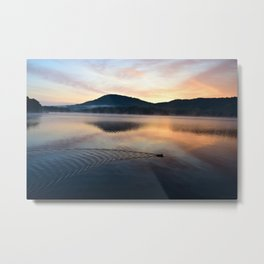Night's End: Making Ripples Metal Print