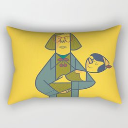 Twinocchio Rectangular Pillow