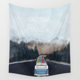 find your rainbow Wall Tapestry