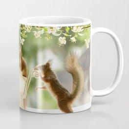 squirrels with stroller Coffee Mug
