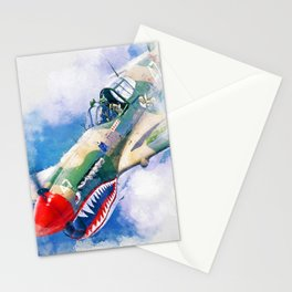 Curtis P-40 Stationery Cards