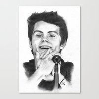 stiles Canvas Prints featuring Stiles by LilKure
