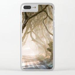 The Dark Hedges - GoT - Co. Antrim - Northen Ireland Clear iPhone Case