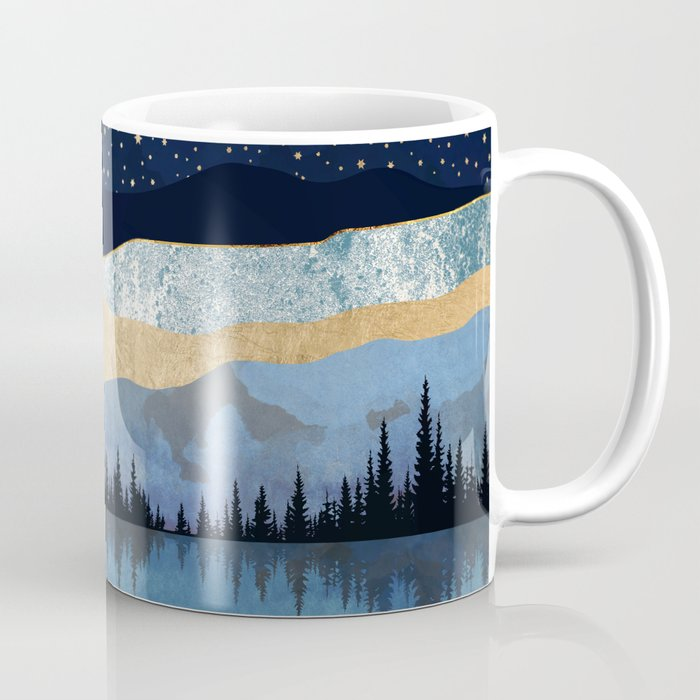 Midnight Lake Coffee Mug