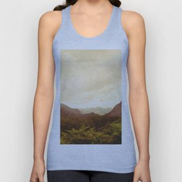 mountains (02) Unisex Tank Top