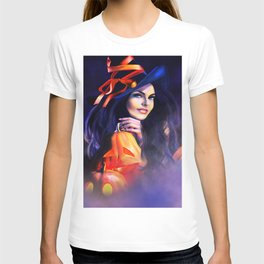 Jack O Lantern Witch T-shirt