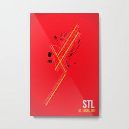 STL Metal Print