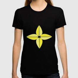 Keltainen kukka T-shirt